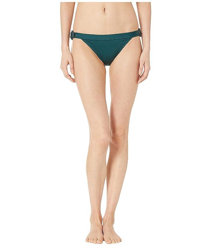 Kate Spade New York Daisy Buckle Bikini Bottoms (Conifer) Women