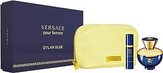 Versace Pour Femme Dylan Blue Giftset, Eau De Parfum 100ml + 10ml + Pouch