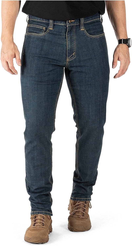 5.11 Tactical Men's Defender-Flex Slim Pockets Work Patch Jeans Spring New item new work