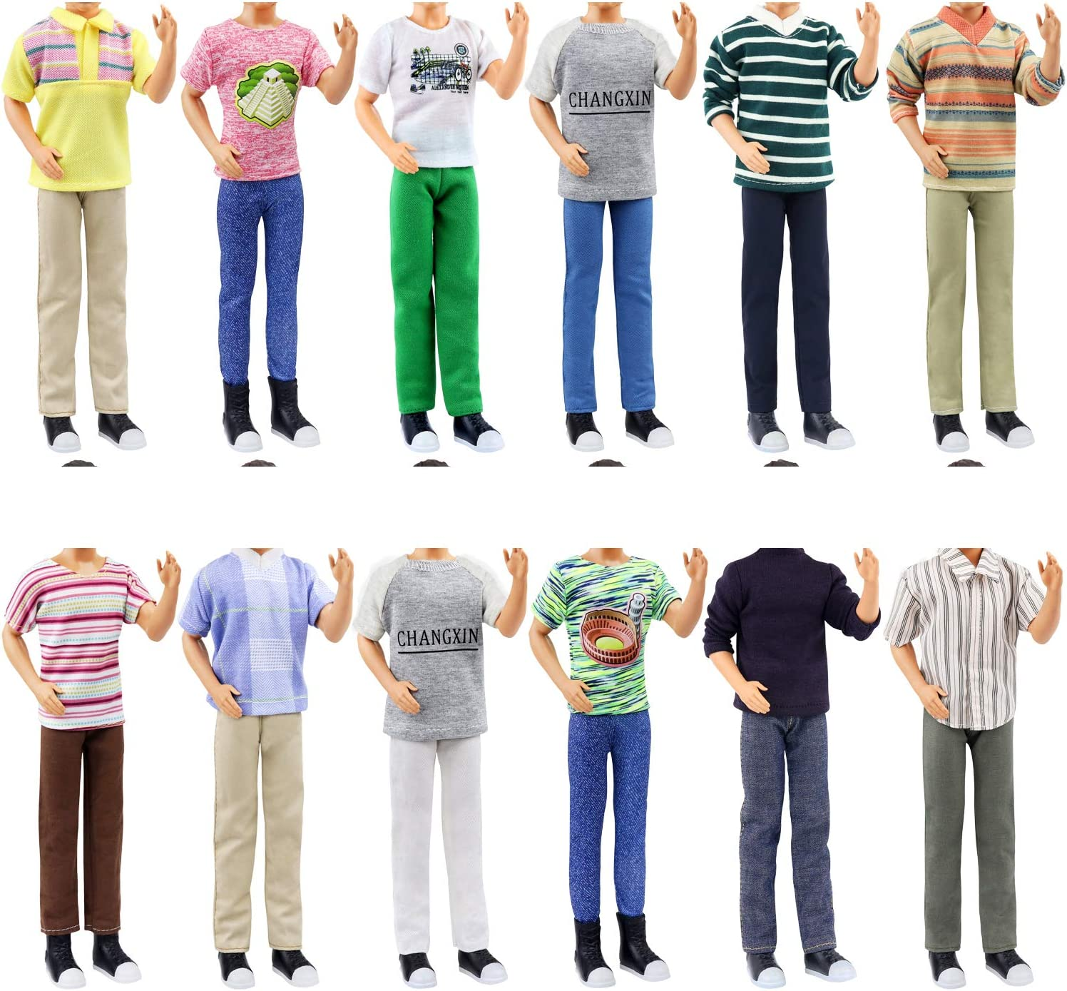 ZITA ELEMENT 12 Set of Max 79% OFF Quality Clothes Doll Rare Inch 11.5 Boy for