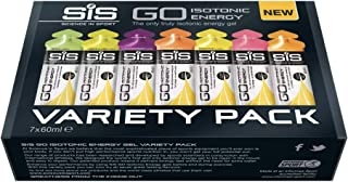 Science in Sport Go Isotonic Energy Gel, Variety Flavour, 60ml, Pack of 7