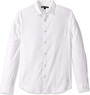 John Varvatos Star USA Men's Clean SNAP Front Shirt