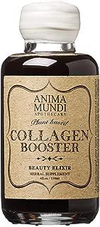 Anima Mundi Plant Based Collagen Booster Elixir - Organic, Adaptogenic Beauty Boosting Herbal Supplement for Skin, Hair + Nails, Vegan (4oz / 118ml)