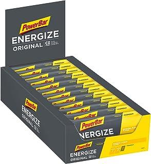 PowerBar Energize original banan punch 25 x 55 g – hög kolhydratenergi + C2MAX magnesium och natrium