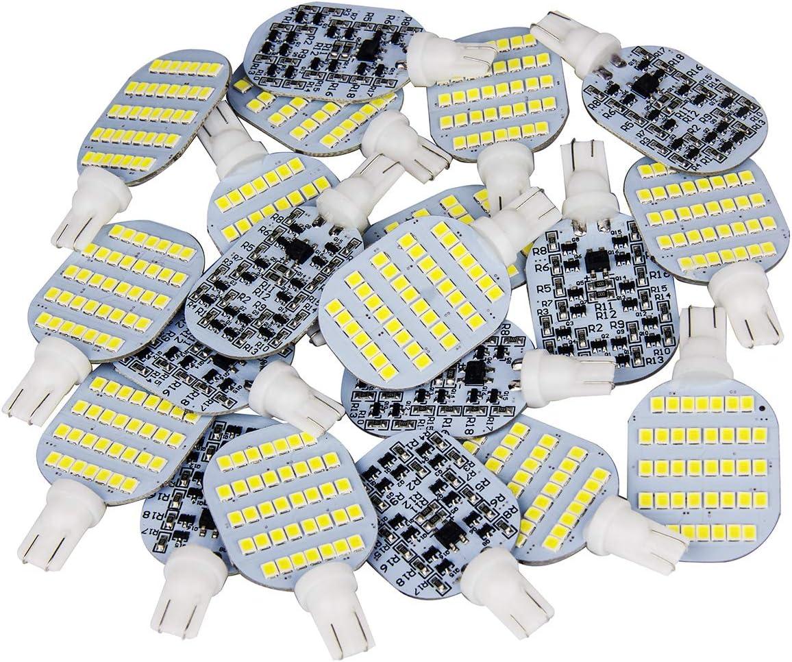 Super Bright T10 921 922 912 LED Bulbs for 12V RV Ceiling