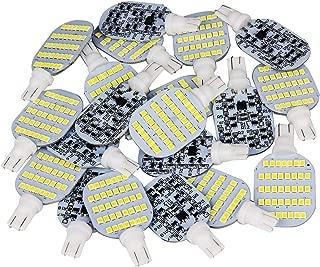 Super Bright T10 921 922 912 LED Bulbs for 12V RV Ceiling Dome Light RV Interior Lighting Trailer Camper, White 600 Lumens (Pack of 20)