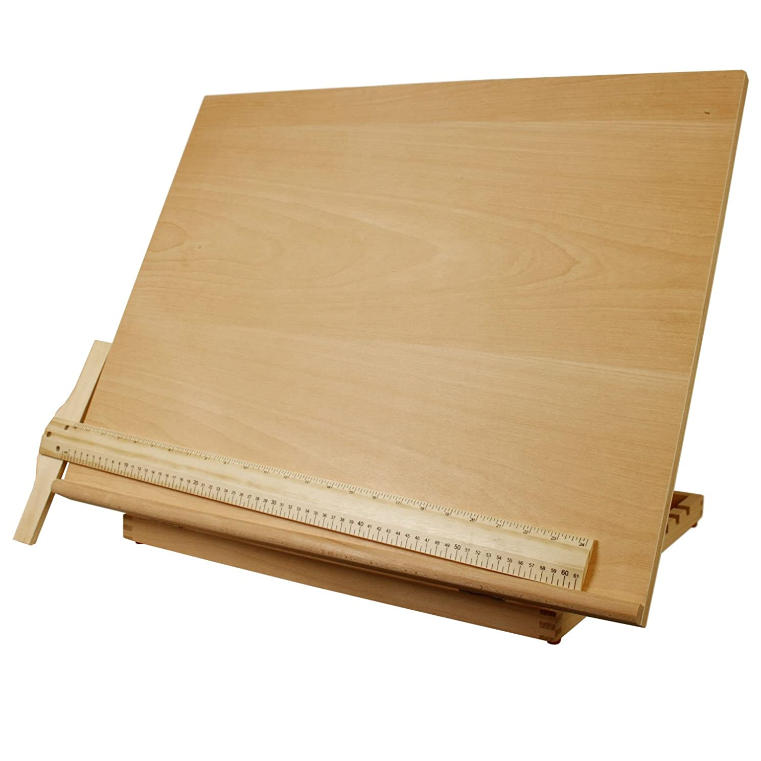 US Art Supply Extra Large Adjustable Wood Artist Drawing & Sketching Board 26