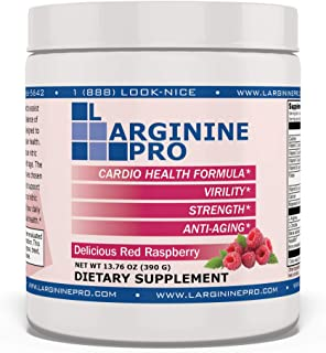 L-arginine Pro, L-arginine Supplement - 5,500mg of L-arginine Plus 1,100mg L-Citrulline