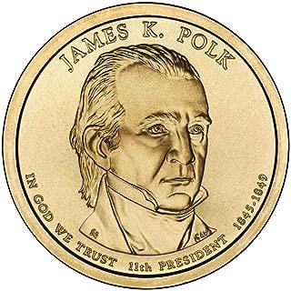 2009 D Polk Presidential Dollar Choice Uncirculated