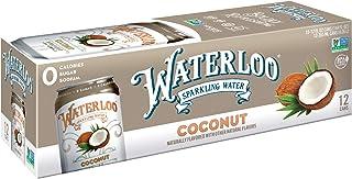 Sponsored Ad - Waterloo Sparkling Water Coconut Fruit Flavor 12 Cans (Pack of 1) | Zero Calorie | Zero Sugar | Zero Sodium...
