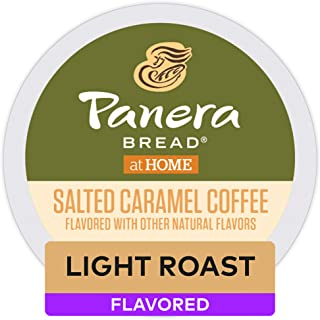 Panera Salted Caramel, Single Serve Coffee K-Cup Pod, Flavored Coffee, 72 Count