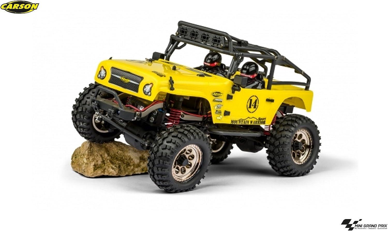 Carson 500404069 1 12 Mountain Warrior Sport Fahrzeug, gelb B06XT5Q1CN Louis, ausführlich    Authentische Garantie