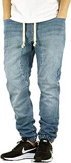AIRNINE Men's Drop Crotch Denim Jogger Pants S-5XL