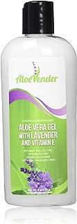 AloeVender Aloe Vera Gel with Lavender and Vitamin E