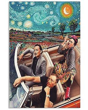 iGift Frida Kahlo Salvador dali Banksy Starry Night Van Gogh Poster Perfect, Ideas On Xmas, Birthday, Home Décor