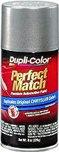 Dupli-Color BCC0417 E7 Bright Platinum Metallic Chrysler Perfect Match Automotive Paint - Aerosol, 8. Fluid_Ounces