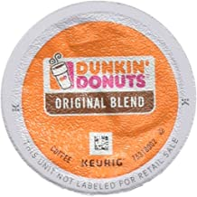 Dunkin' Donuts 2091512 Original Blend Coffee K-Cup Pods Medium Roast 44/Box (006933)