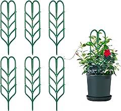 Comius Sharp Kletterpflanzen Unterstützung, 6 Stück DIY Ga
