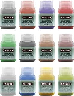 Timbertech - Peintures acryliques pour aérographe (12 unités, 30 ml)