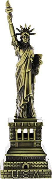 Juvale Statue Of Liberty Figurine Bronze 7 Inch