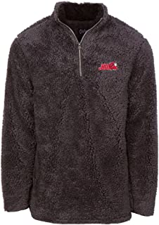 NCAA Men's Sherpa Long Sleeve 1/4 Zip Pullover