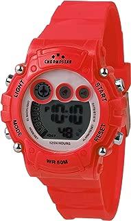 Chronostar R3751277003 Pop Year Round Digital Digital Red Watch