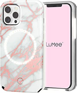 LuMee Halo by Case-Mate - Light Up Selfie Case for iPhone 12 and iPhone 12 Pro (5G) - Front & Rear Illumination - 6.1 Inch...
