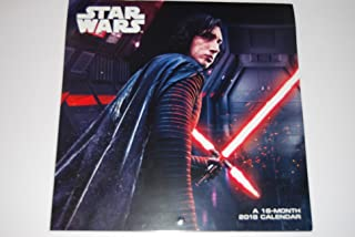2018 Star Wars: The Last Jedi 16 Month Wall Calendar (September 2017 Through December 2018)