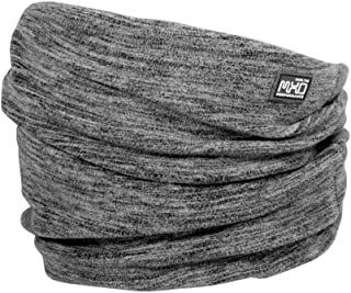Maximo 男童羊毛带反光围巾,灰色(中灰混色 49),2(制造商尺寸:2)