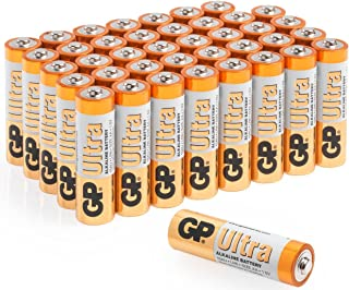 AA Batteries  Pack of 40 GP Batteries Superb operating time  1.5V - Mignon - LR06 - MN1500 - 15A- AM3 -