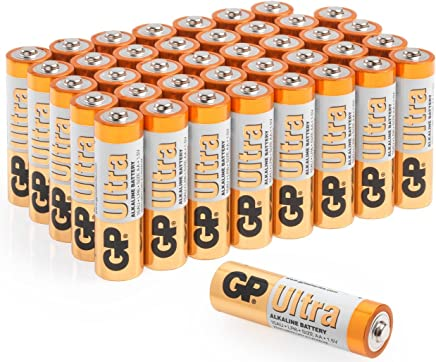 AA Batteries |Pack of 40|GP Batteries|Superb operating time| 1.5V - Mignon - LR06 - MN1500 - 15A- AM3 -
