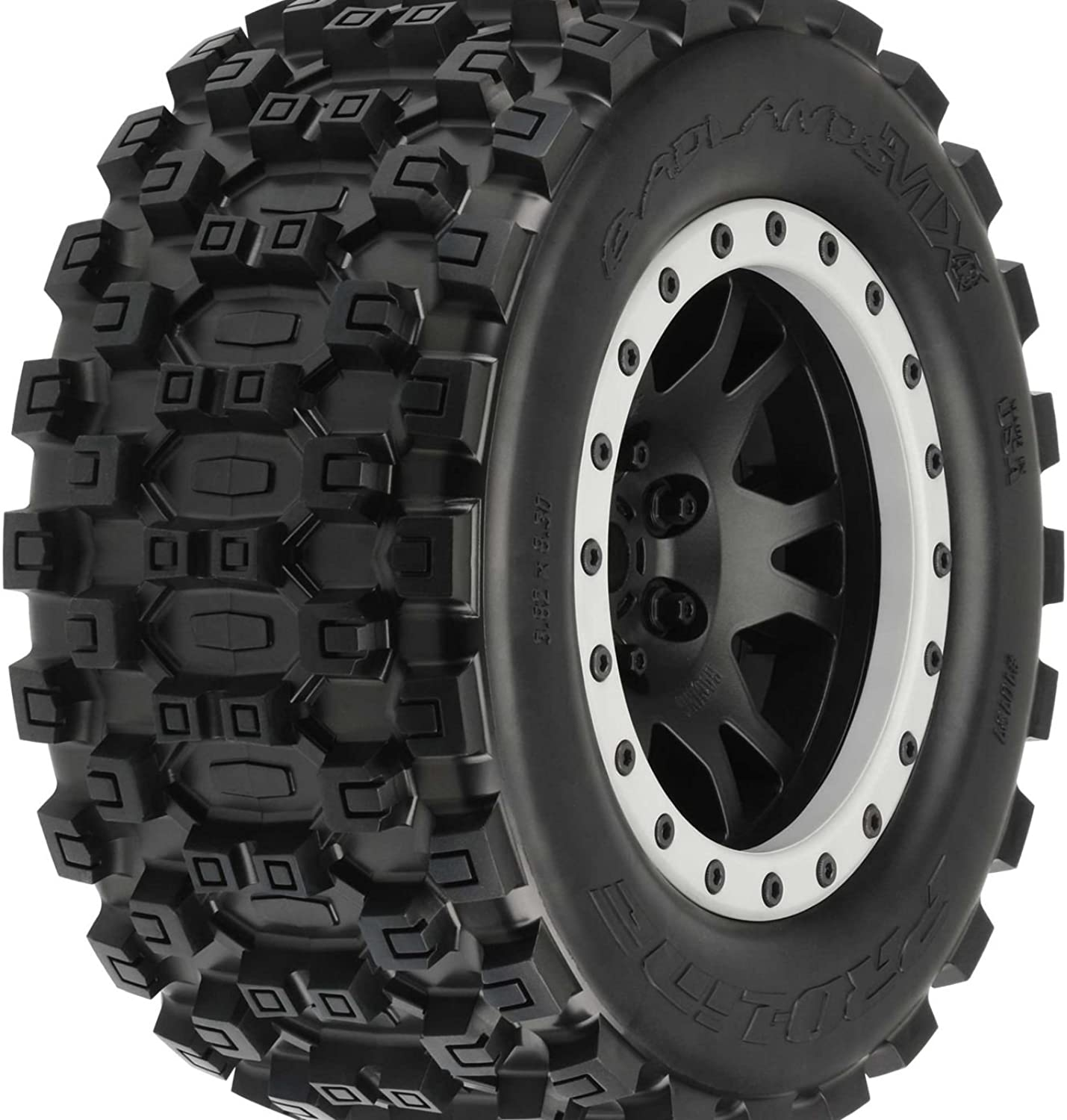 marcas de moda PROLINE BADLANDS MX43 MX43 MX43 PRO-LOC TYRES MOUNTED FOR XMAXX (F R)  hasta 60% de descuento