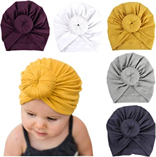 Newborn Baby Cotton Cloth Turban Toddler Rabbit Hospital Hat Ear Hat Kids Set Baby Cap