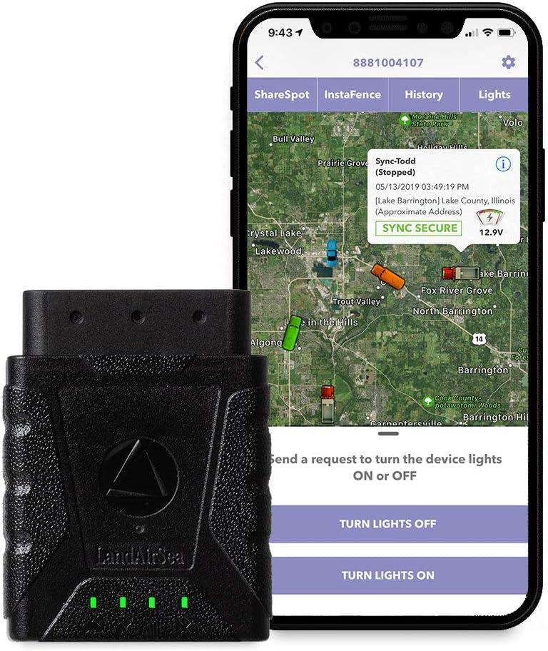 LandAirSea Sync GPS Tracker