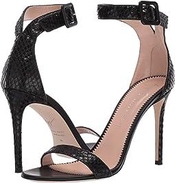Neyla Croc Embossed Heel Sandal