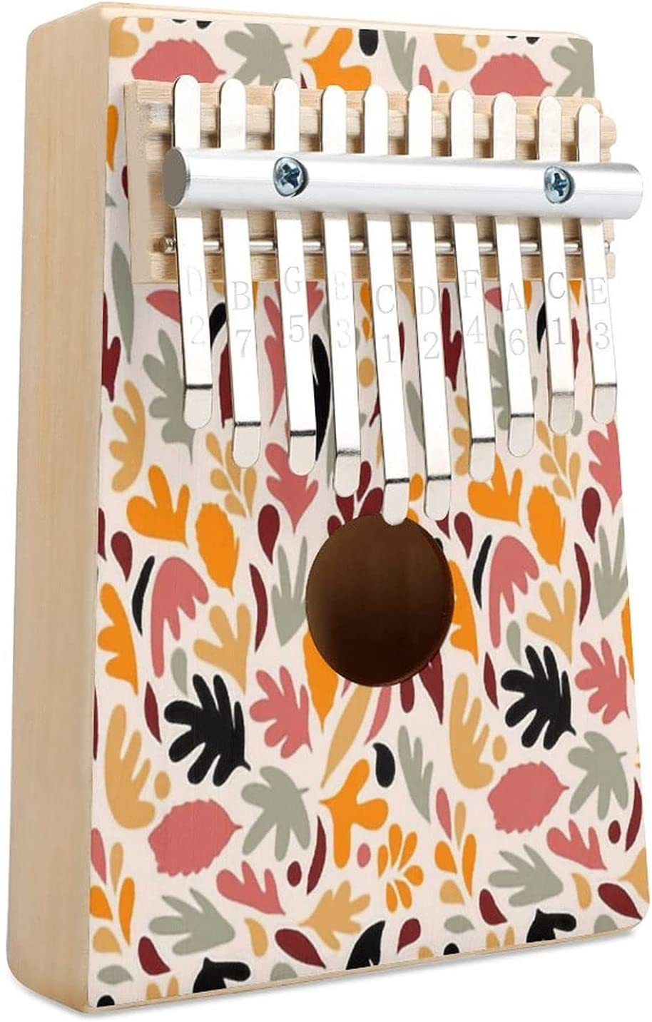 Retro Fall In Love Matisse Foliage Key 10 Piano Thumb Kalimba Opening large release sale 25% OFF S