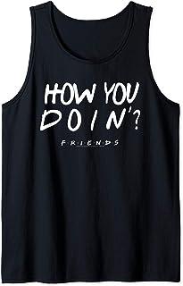 Friends How You Doin? Black Débardeur