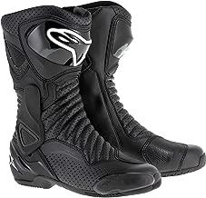 Alpinestars SMX-6 v2 Vented Boots - Black - Size 43 EU 9 US