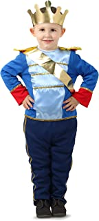 Princess Paradise PP14822_612M Charming Prince Infant and Toddler Costumes, as Shown, 6-12 Months
