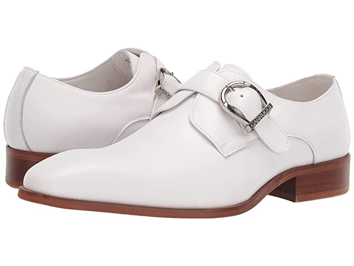 Mens Retro Shoes | Vintage Shoes & Boots Carrucci Scottsdale White Mens Shoes $110.00 AT vintagedancer.com
