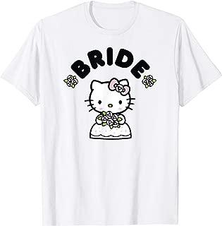 Hello Kitty Bride in Wedding Dress Bridal Wedding T-Shirt