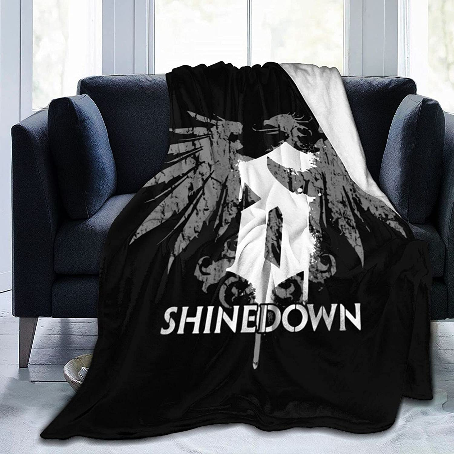 Shinedown Blanket Super special price 3D Print Camping Warm Blankets Light B Columbus Mall