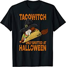 Funny Taco Witch Only Spotted at Halloween T-Shirt