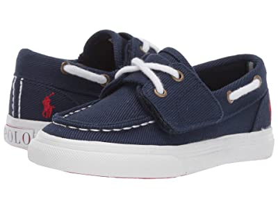 Polo Ralph Lauren Kids Bridgeport EZ (Toddler) (Navy Heavy Twill/Red Pony) Kid