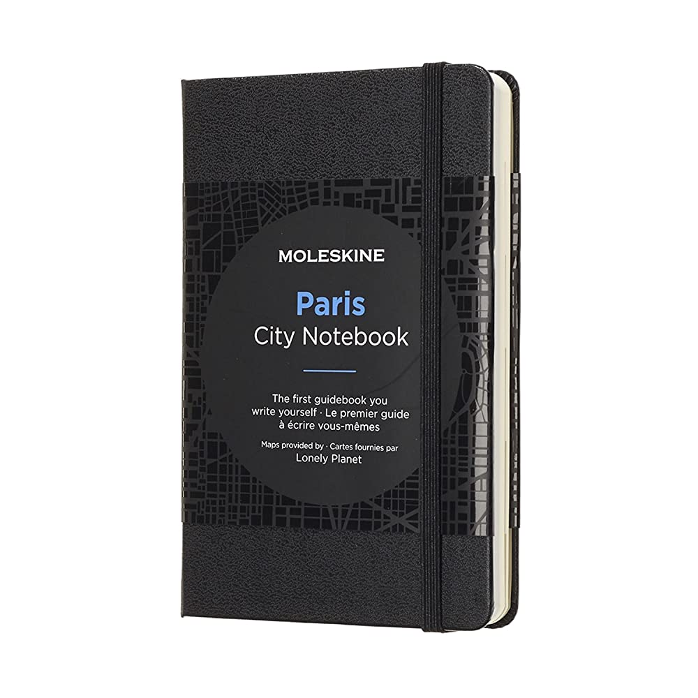 Moleskine Journey City Notebook, Paris, Hard Cover, Pocket (3.5