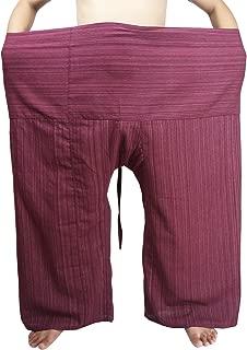 Fisherman Wrap Pants Plus Size Mens Womens Casual Yoga Pants Waist 74