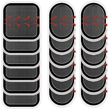 Coomatec スレンダートーン対応 EMS互換交換パッド スレンダートーン 交換パッド3枚*6セット (正面用 6枚 + 脇腹用12枚)