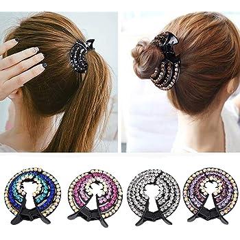 12//set in resina capelli Mini fermagli Grips In Plastica Clip per capelli di piccole dimensioni per donne ragazze
