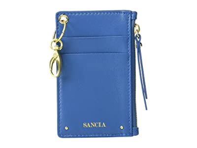 SANCIA Mimmie Card Pouch (Moroccan Blue) Wallet Handbags