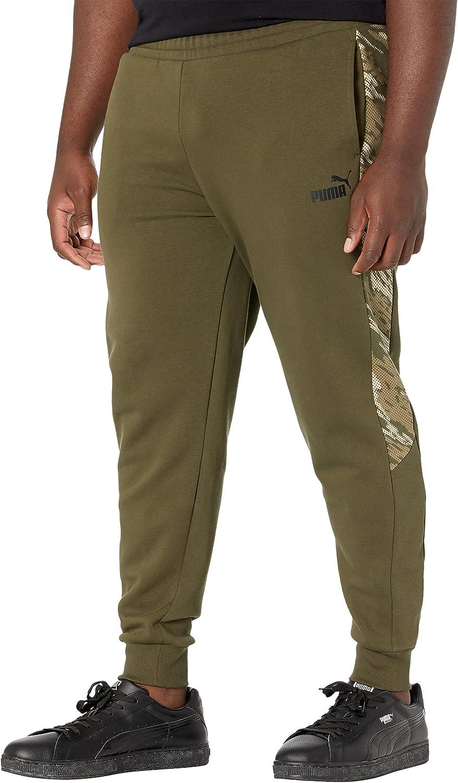 PUMA Men's Graphic Fleece Sweatpants Bt